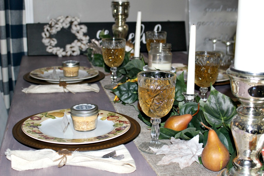 Side Image of Thanksgiving Tablescape