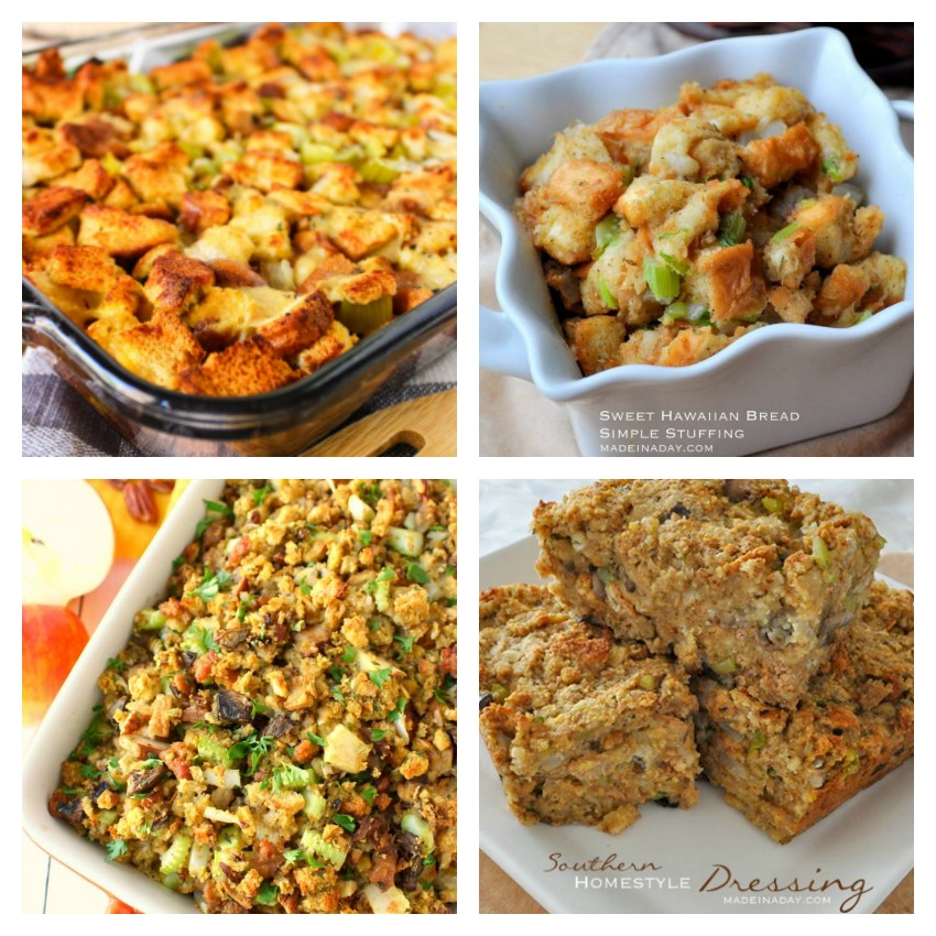 Thanksgiving Bread Stuffing Recipes