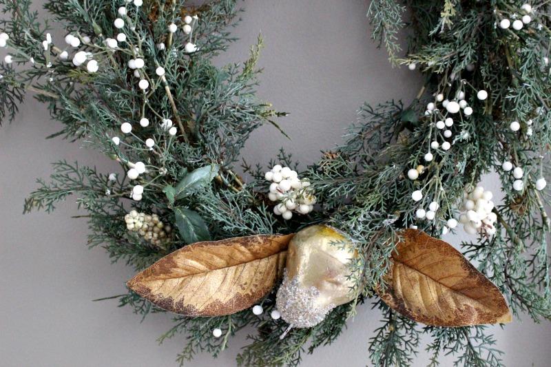 start of wreath