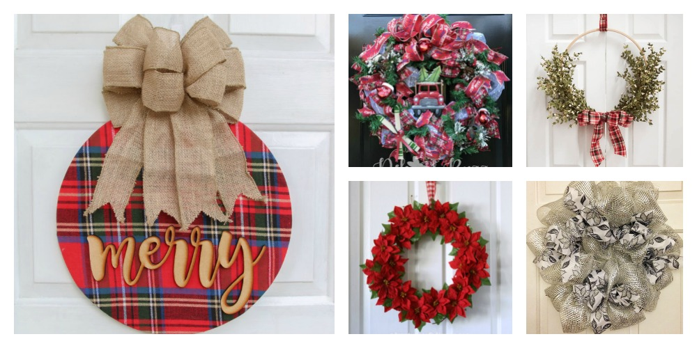 5 Featured Christmas Wreaths Merry Monday