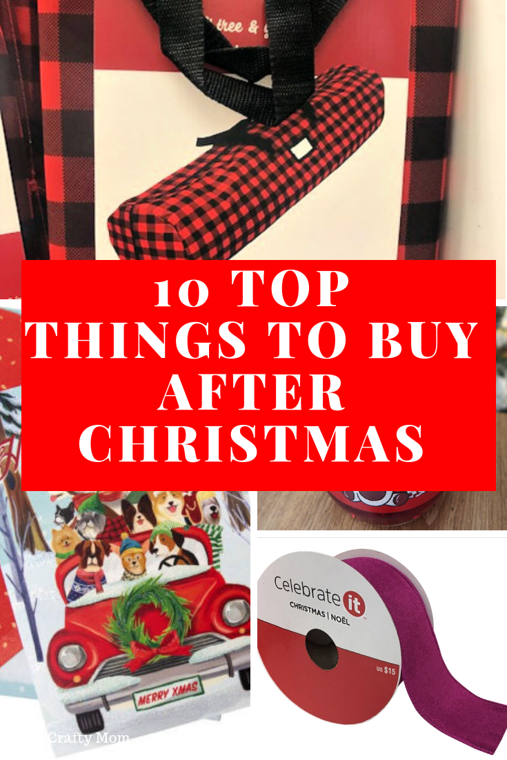Pinterest Image Top 10 Things To Buy After Christmas To Save Money Next Year!