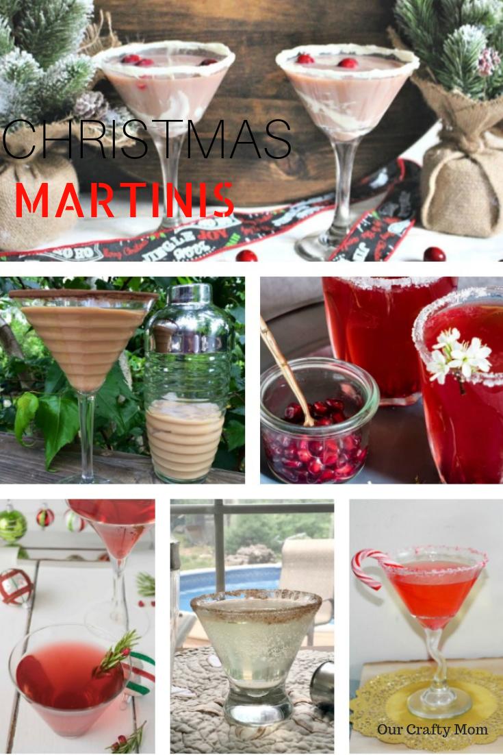 60+ Christmas Cocktails Our Crafty Mom #martinirecipes