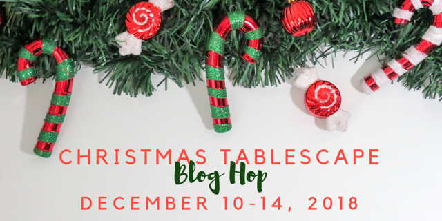 Christmas Tablescape Blog Hop 2018-3