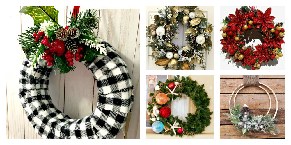 Christmas Wreath Features