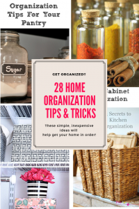 28 Home Organization Tips & Tricks Our Crafty Mom