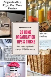 28 Home Organization Tips & Tricks Our Crafty Mom