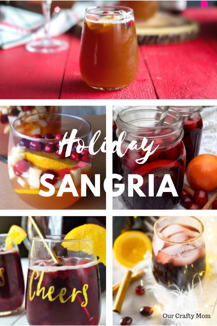 Holiday Sangria Recipes Our Crafty Mom