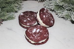 Mini Red Velvet Whoopie PIe Recipe Our Crafty Mom