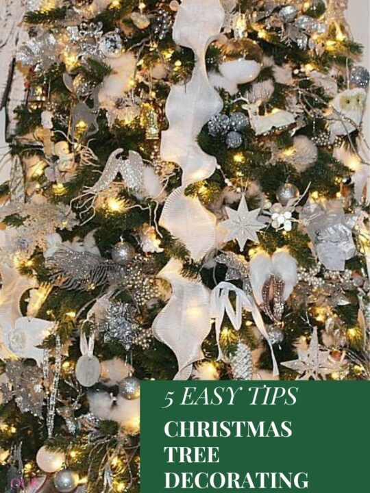 5 easy tips for Christmas tree decorating ideas