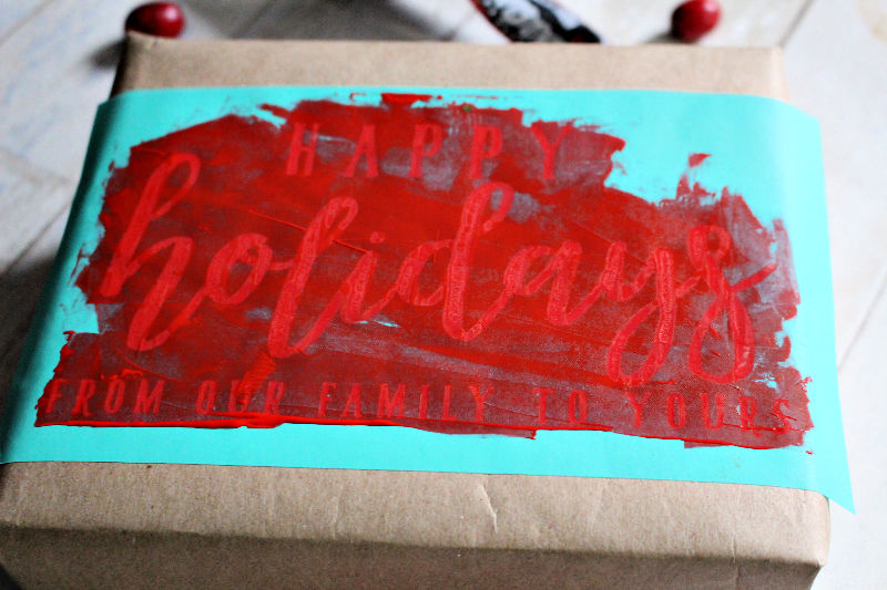 Red Chalked Gift