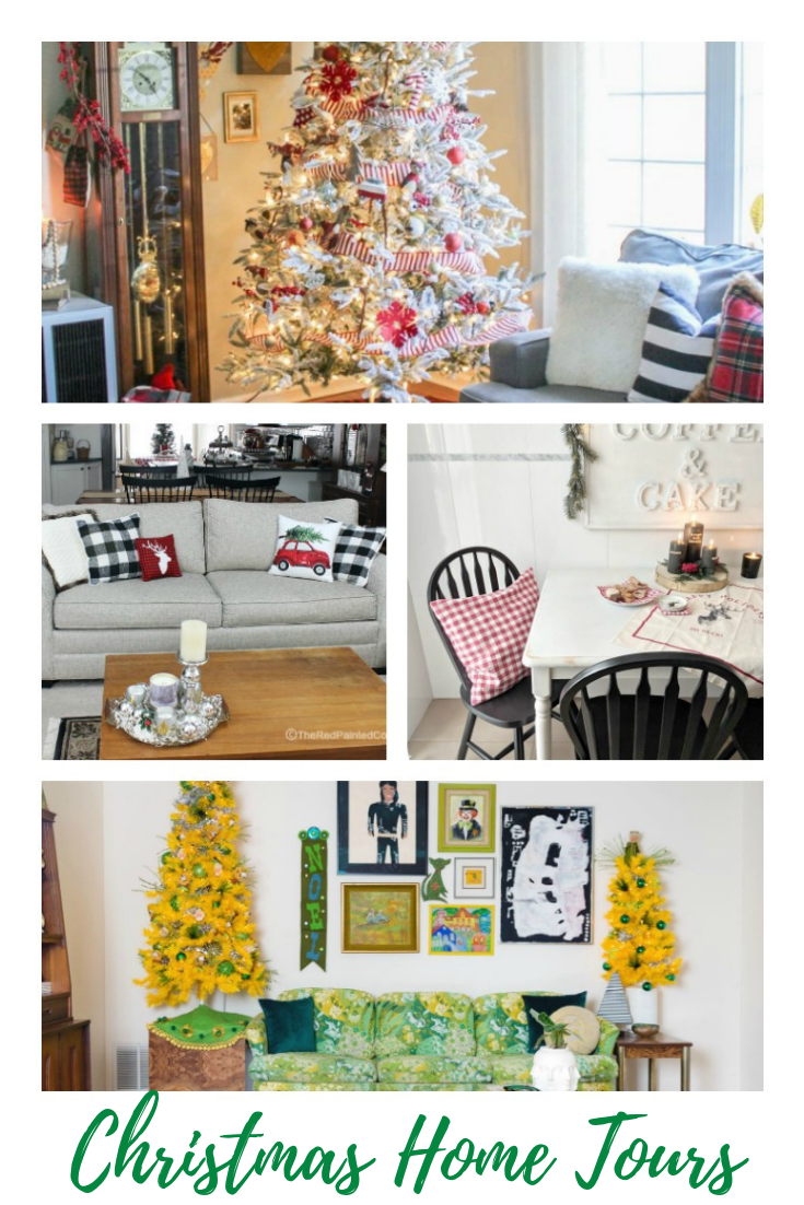 Gorgeous Christmas Home Tours Our Crafty Mom