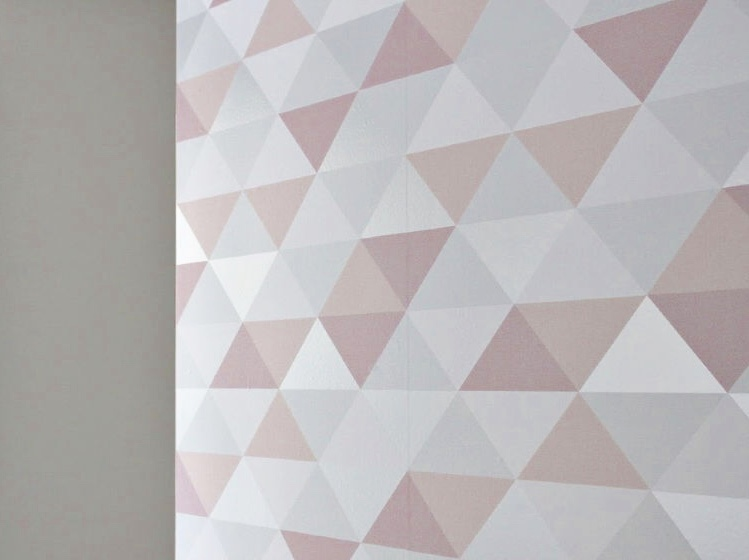 How To DIY A Feature Wall With Peel And Stick Wallpaper