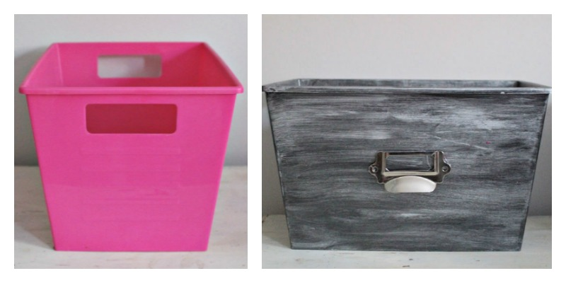 Before & After Bins Our Crafty Mom