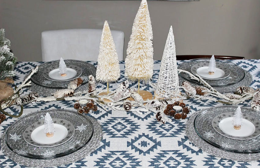 Full View Winter Tablescape