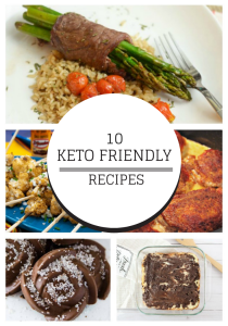 10 Keto Friendly Recipes Round Up Collage