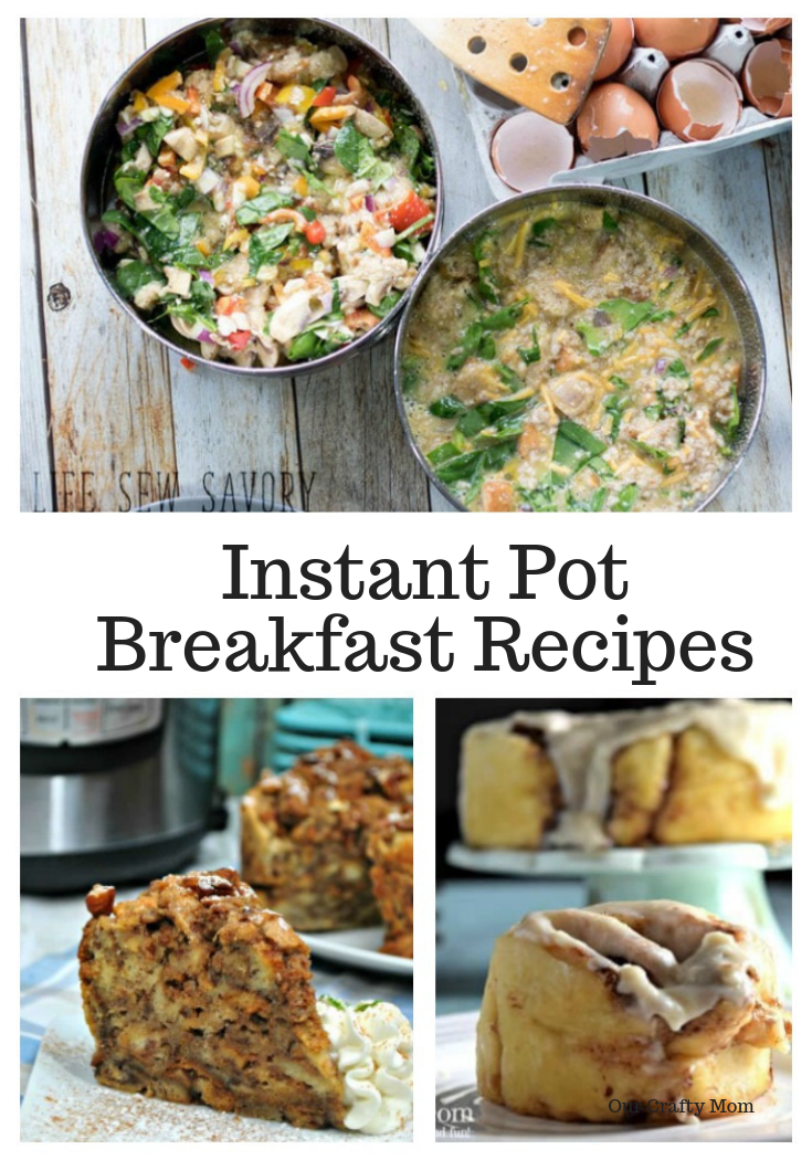 12 Quick And Easy Instant Pot Recipes Our Crafty Mom