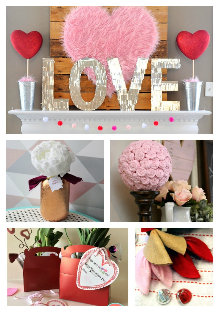Valentine's Day Crafts Features Merry Monday Our Crafty Mom