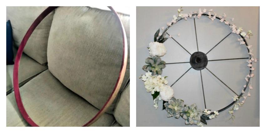 Wagon Wheel Wreath Our Crafty Mom
