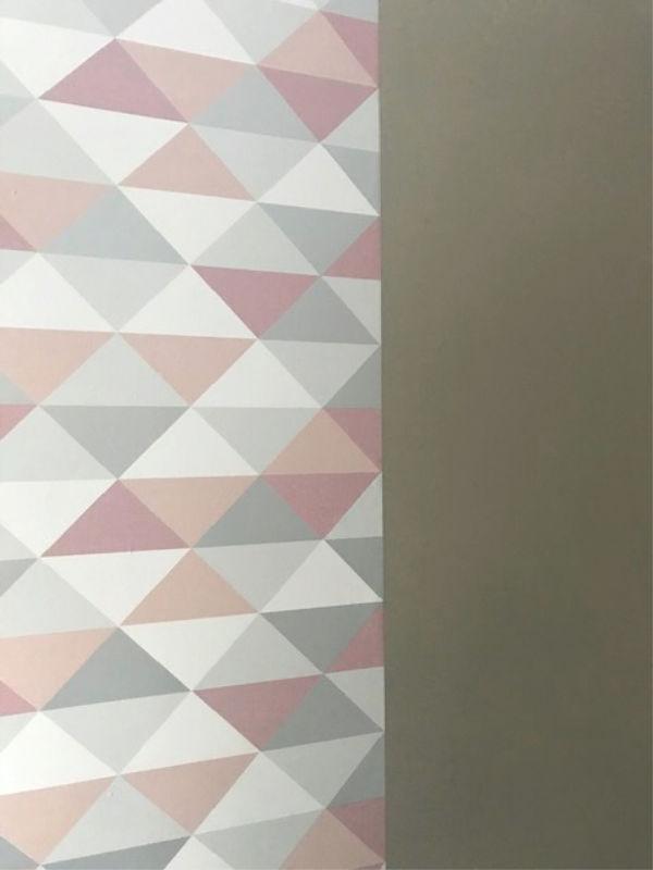 Wallpaper In Craft Room