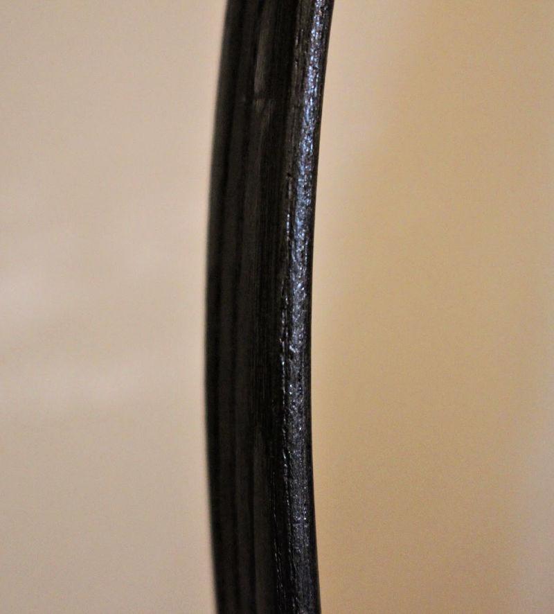 close up painted hoop