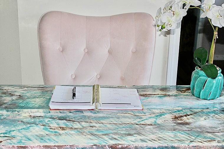 diy epoxy resin desk