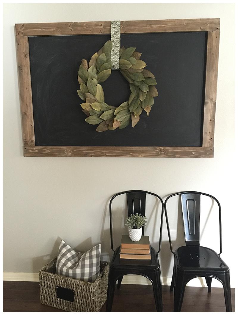 Pinterest Challenge Chalkboard