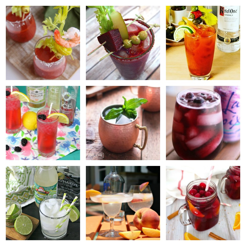 20 Low Carb Cocktails #ourcraftymom #lowcarbcocktails #lowcarbdrinks