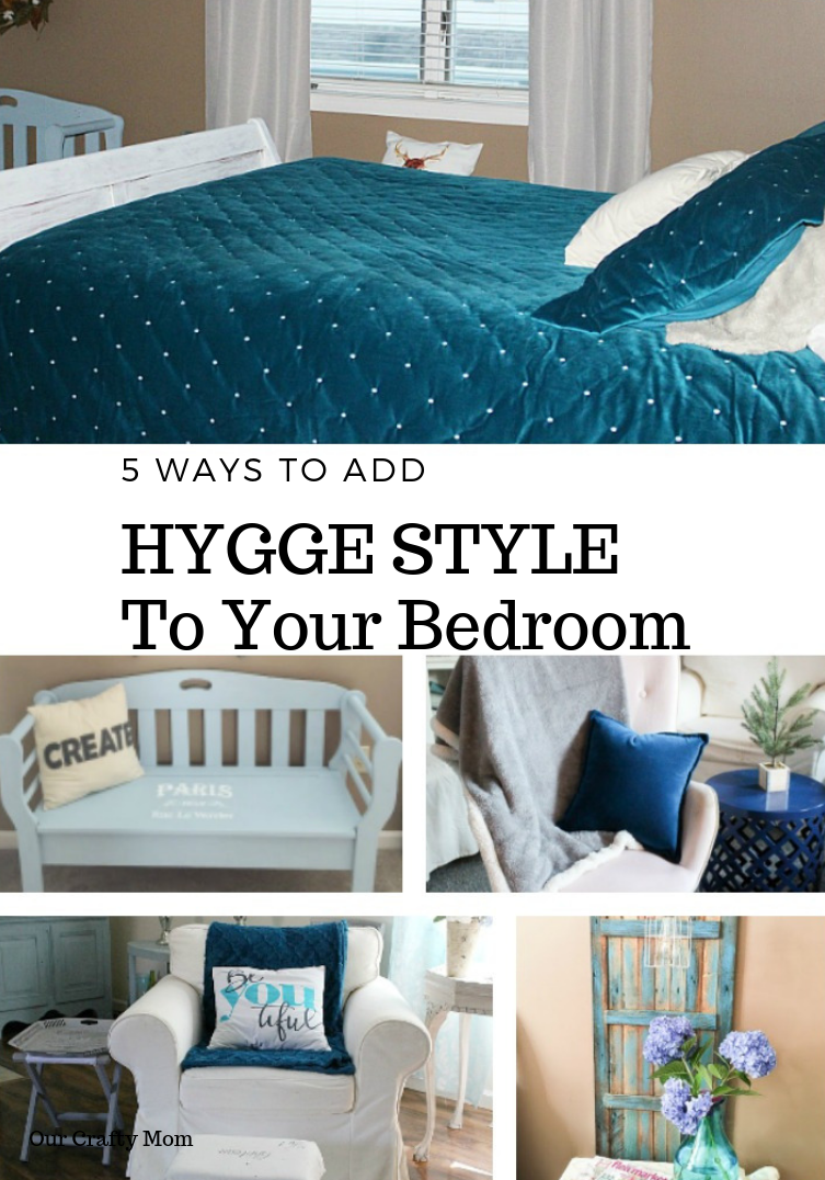 How To Add Hygge To Your Bedroom For Winter #ourcraftymom