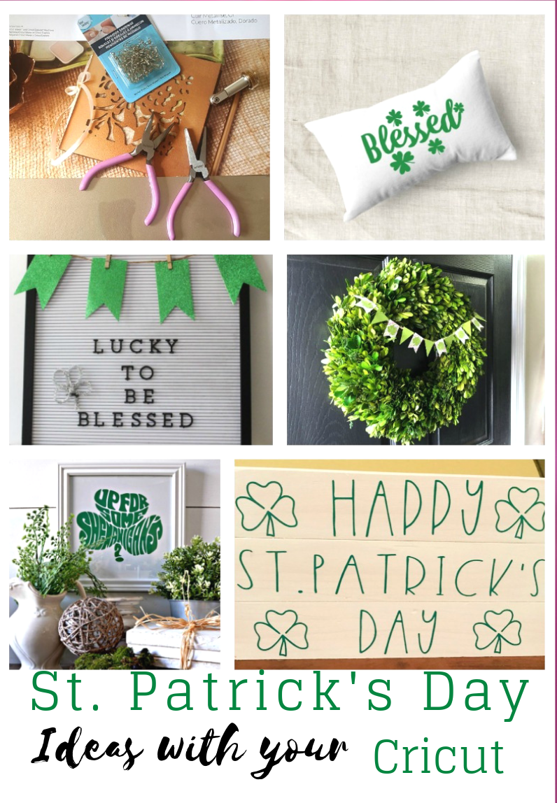 6 St. Patrick's Day Ideas With Your Cricut