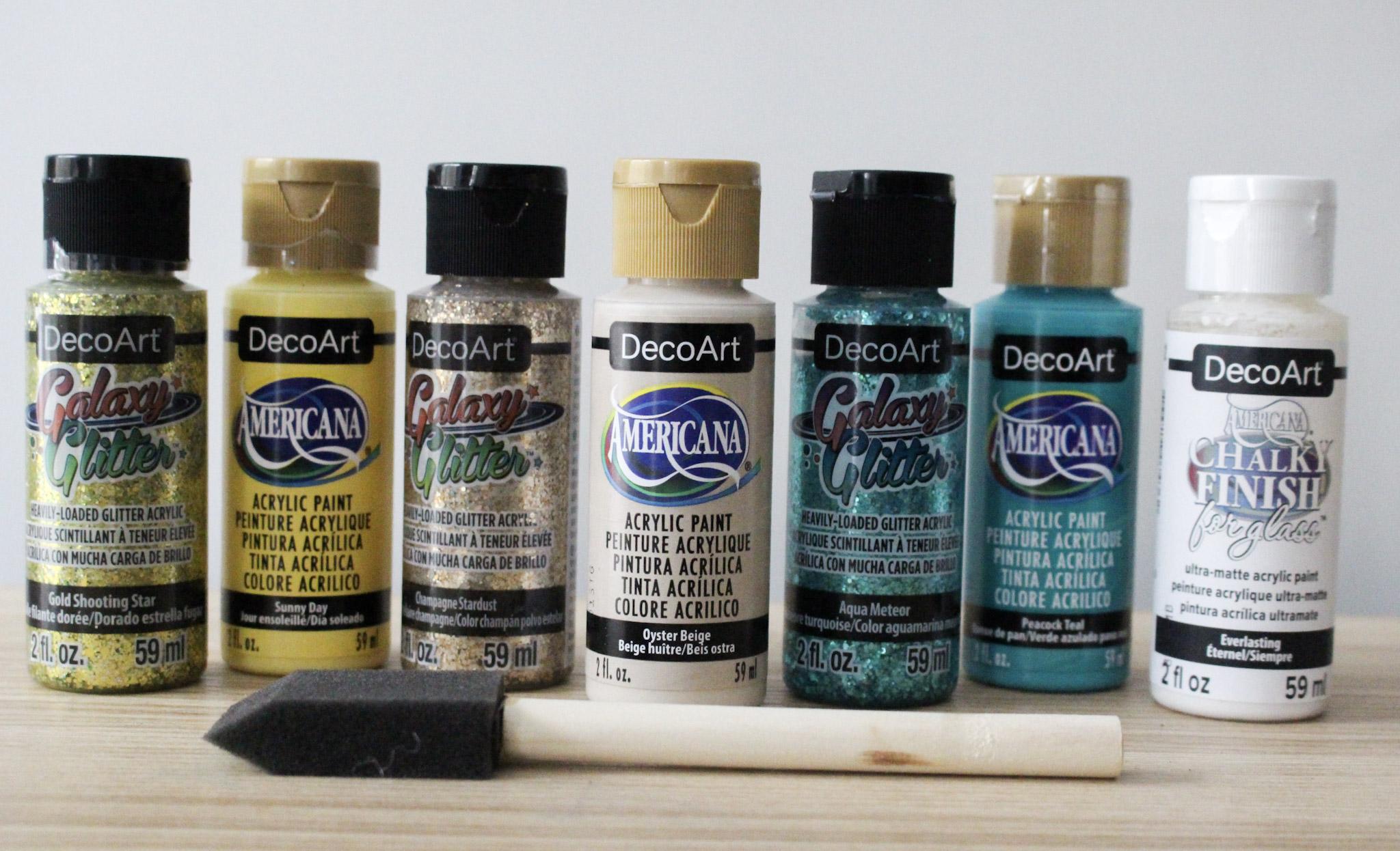 DecoArt Paints For Spring Mason Jars