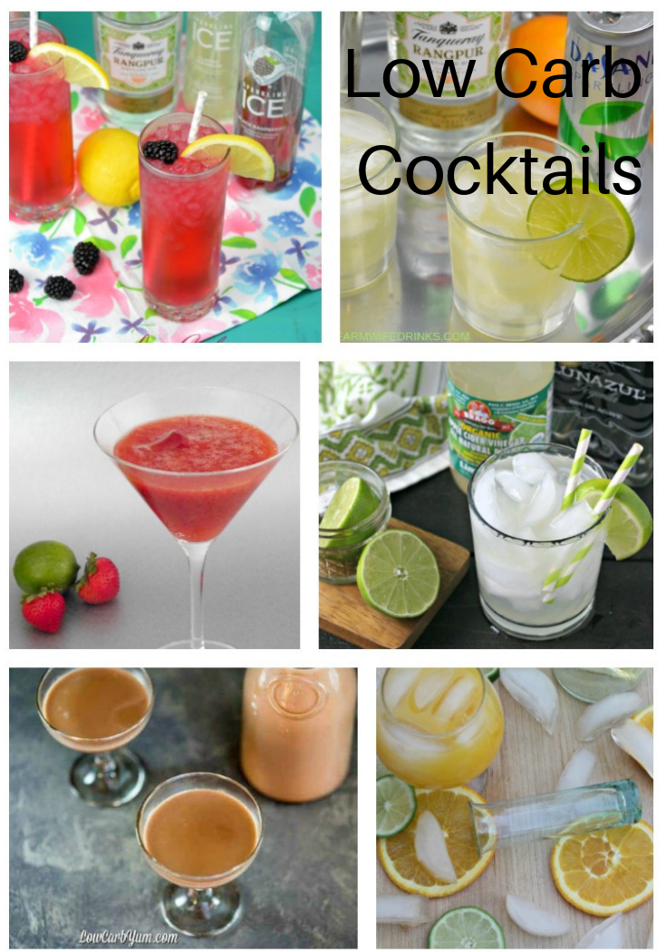 Tropical Cocktails Low In Carb #ourcraftymom