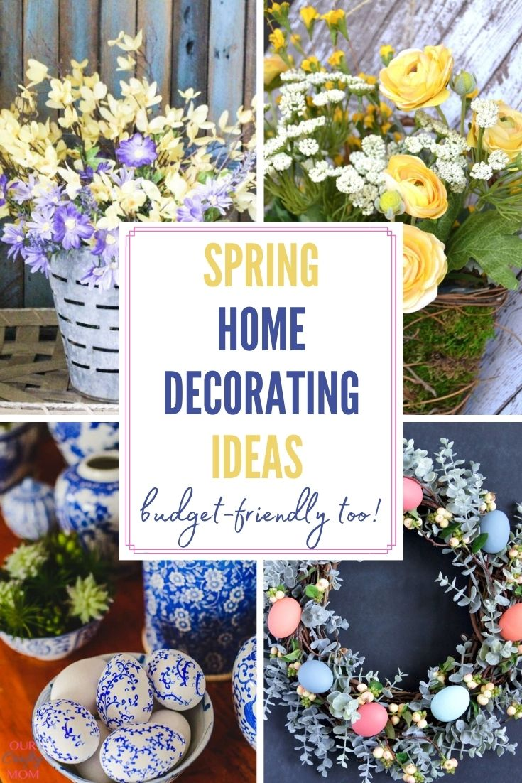 25 spring home decorating ideas