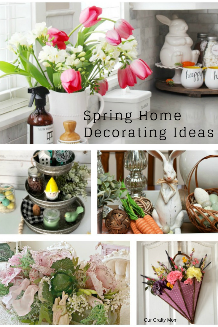 12 Gorgeous Spring Home Decorating Ideas To Inspire You! #ourcraftymom