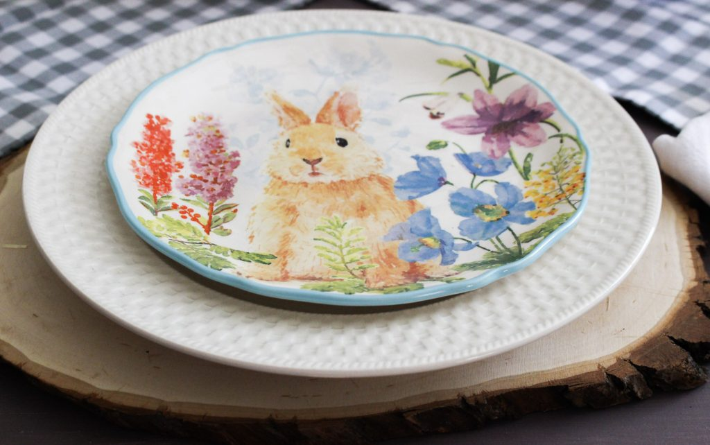 Easter Bunny Plates