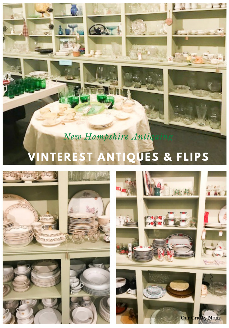 Antiquing in New Hampshire Vinterest Antiques #ourcraftymom #visitnewhampshire