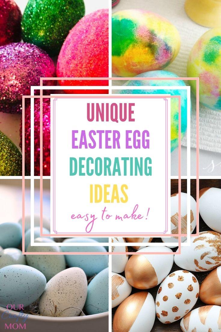 10 diy easter egg decorating ideas