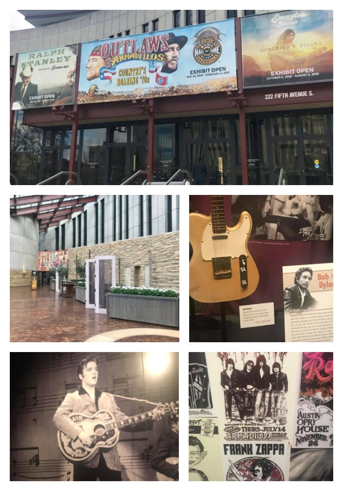 Collage of Country Music Hall of Fame