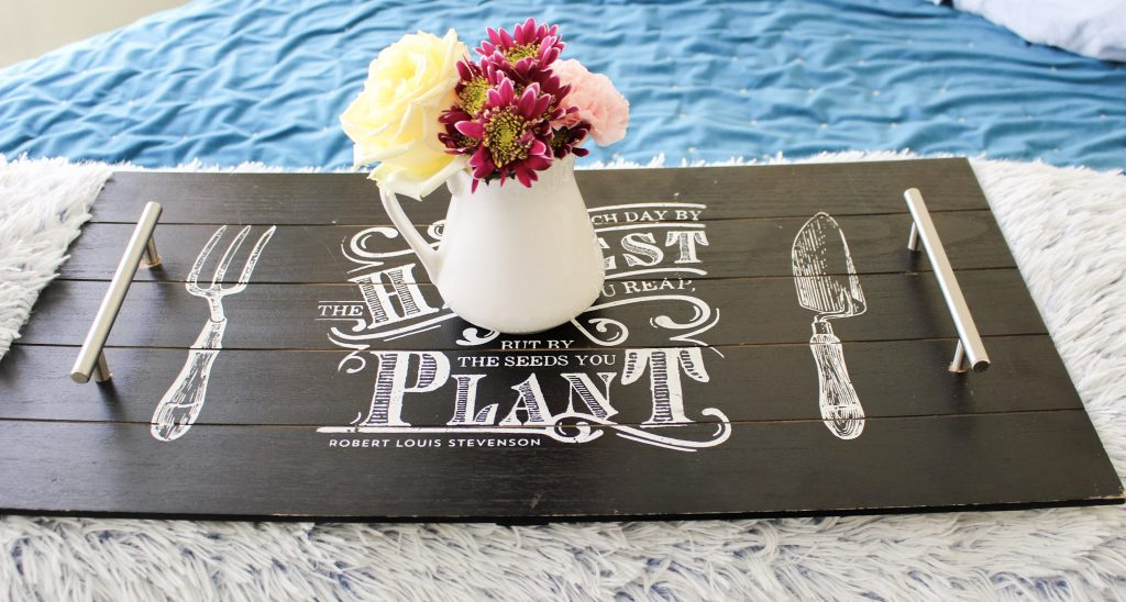 DIY Mother's Day Serving Tray Our Crafty Mom