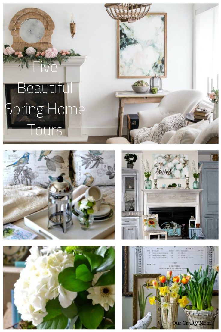 Five Beautiful Spring Home Tours