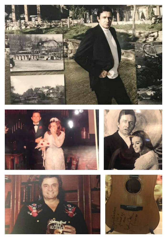 Johnny Cash Museum Collage
