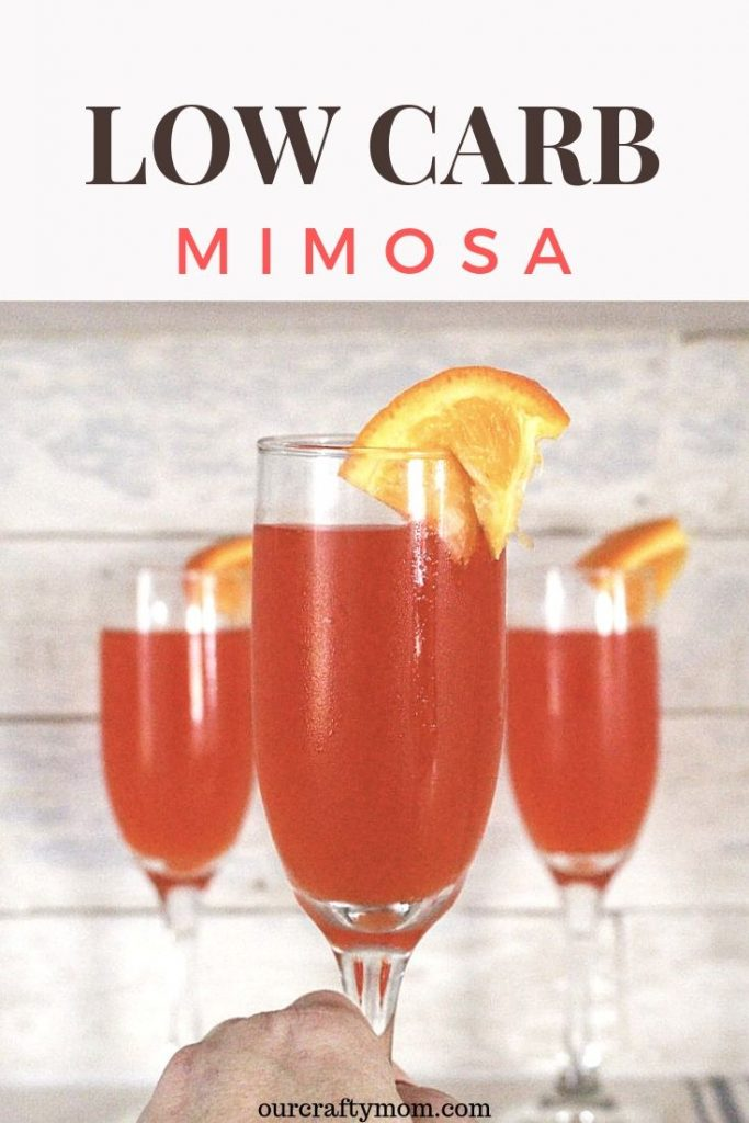how to make a low carb mimosa
