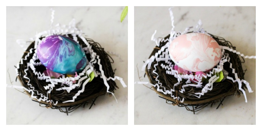 Paint Poured Eggs Our Crafty Mom