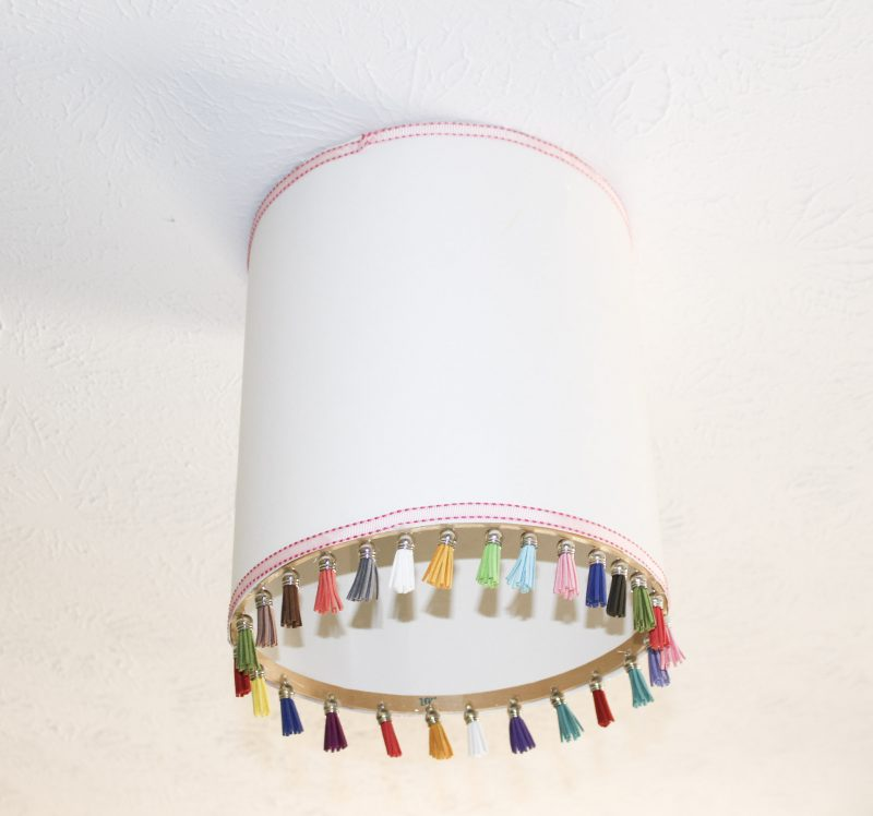 Pendant Light With Tassels Our Crafty Mom