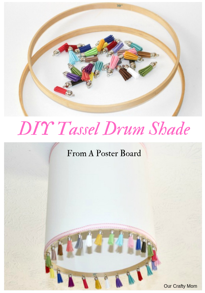 Tassel Drum Shade Pin Image