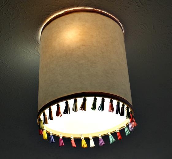 light lit up