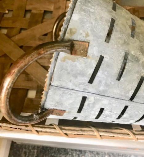 Olive bucket handles