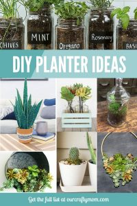 DIY Planter Ideas Our Crafty Mom