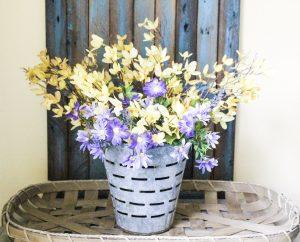 Spring Olive Basket Our Crafty Mom
