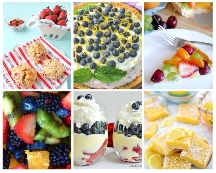 summer fruit desserts
