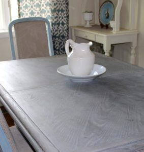 gray table